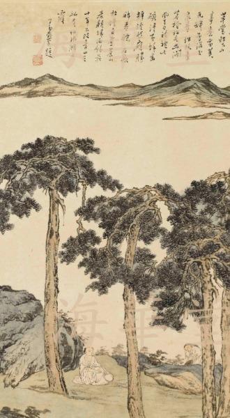 溥儒 溥心畬 山水 人物 書畫 買賣 拍賣 價格 海華堂