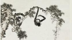 溥心畬 溥儒 猴 松樹 收購 買賣 價格 拍賣